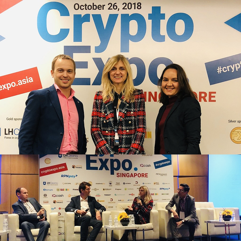 International Blockchain and Cryptocurrency Expo in Singapore