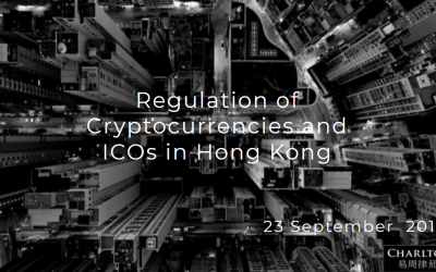 Hong Kong Crypto Regulation 2019