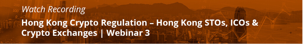 Hong Kong Crypto Law Crypto Regulation